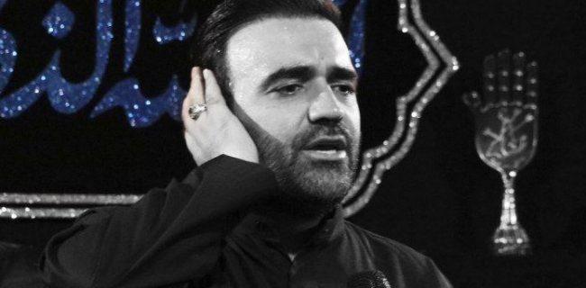 """مداحی زیبای حاج محسن عربخالقی با عنوان """"منی که اشکم به راهه"""""""