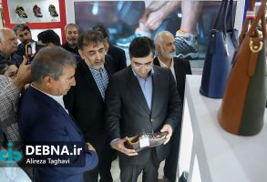 افتتاح ششمین نمایشگاه بینالمللی کیف، کفش، چرم و صنایع وابسته امپکس