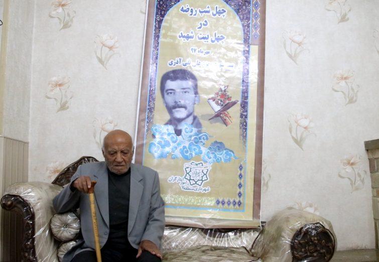 دیدار از خانواده شهید معزز علی نقی آذری