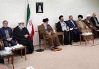 رهبر انقلاب: ایستادگی ملت ایران آمریکا را عصبانی کرده و برای دنیا جذاب است