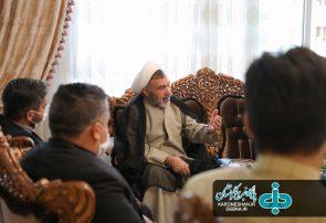 نشست جمعیت جوانان خدمتگزار ایران اسلامی با دکتر سبحانی نیا