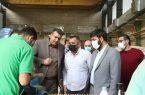 دکتر غلامرضا حسن پور فرمانده بسیج اصناف کل کشور در راستای پیگیری های میدانی از واحدهای تولیدی صنایع چوبی و مبلمان شهرستان پردیس بازدید نمود